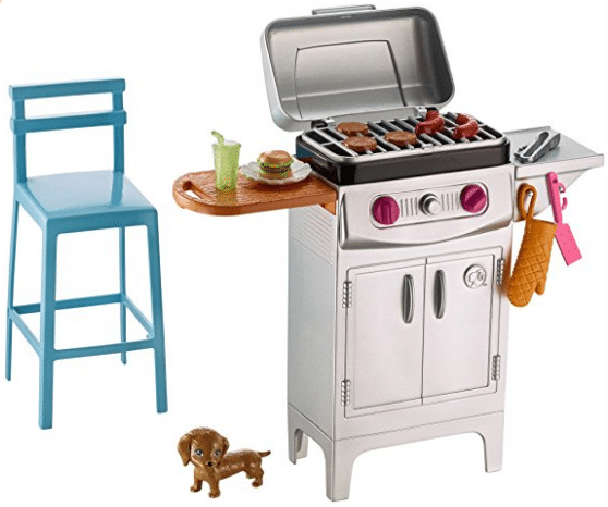 BBQ Grill Furniture and Accessory Set