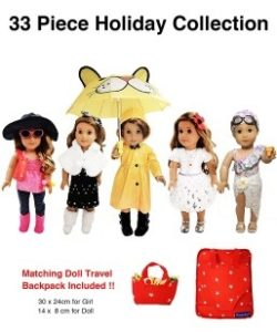 33 Piece American Girl Doll Accessories