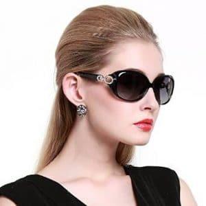 Duco Women's Classic Polarized Sunglasses