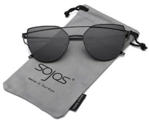 SojoS Metal Frame Women Sunglasses