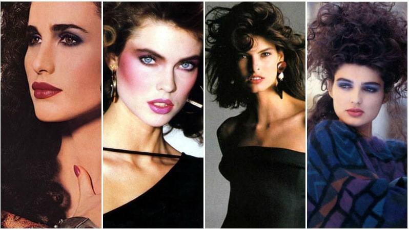 80s Hair & Makeup