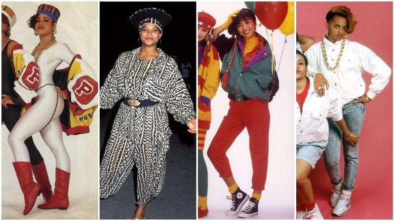 80s Hip-Hop Fashion