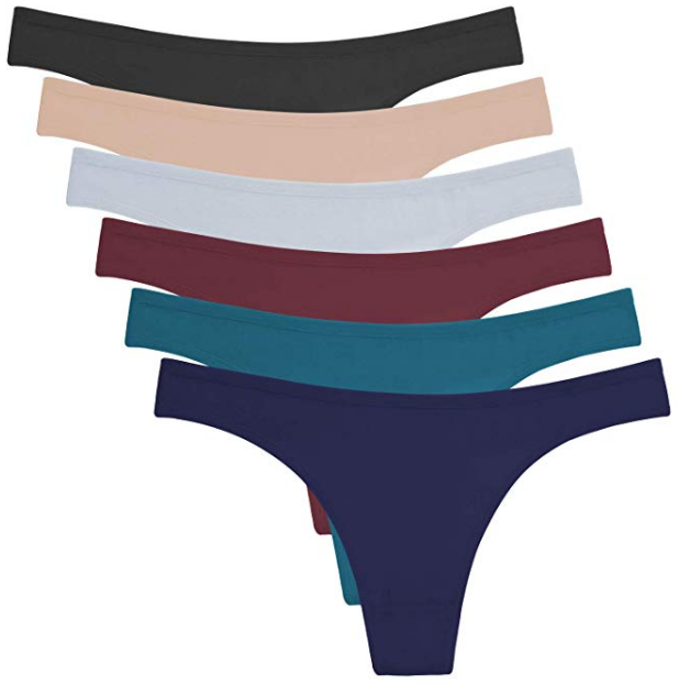 ANZERMIX Women's Breathable Cotton fabric Panties