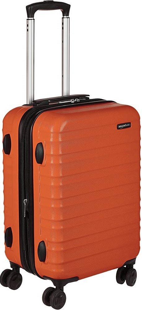 AmazonBasics Hardside Spinner Suitcase Luggage with Wheels