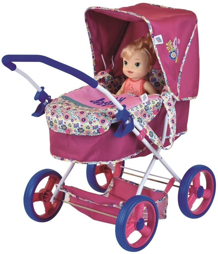 Baby Alive Classic Pram Doll