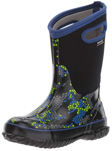 Bogs Waterproof Rubber Rain and Winter Snow Boot for Boys and Girls