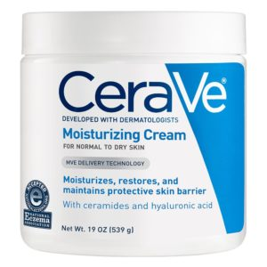CeraVe Face and Body Moisturizing Cream for Dry Skin