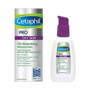 Cetaphil Dermacontrol Facial Moisturizer for Acne-Prone Skin