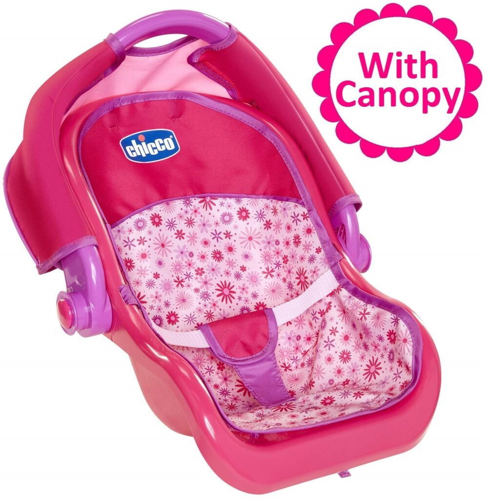 Chicco Baby Doll Car Seat Carrier with Canopy