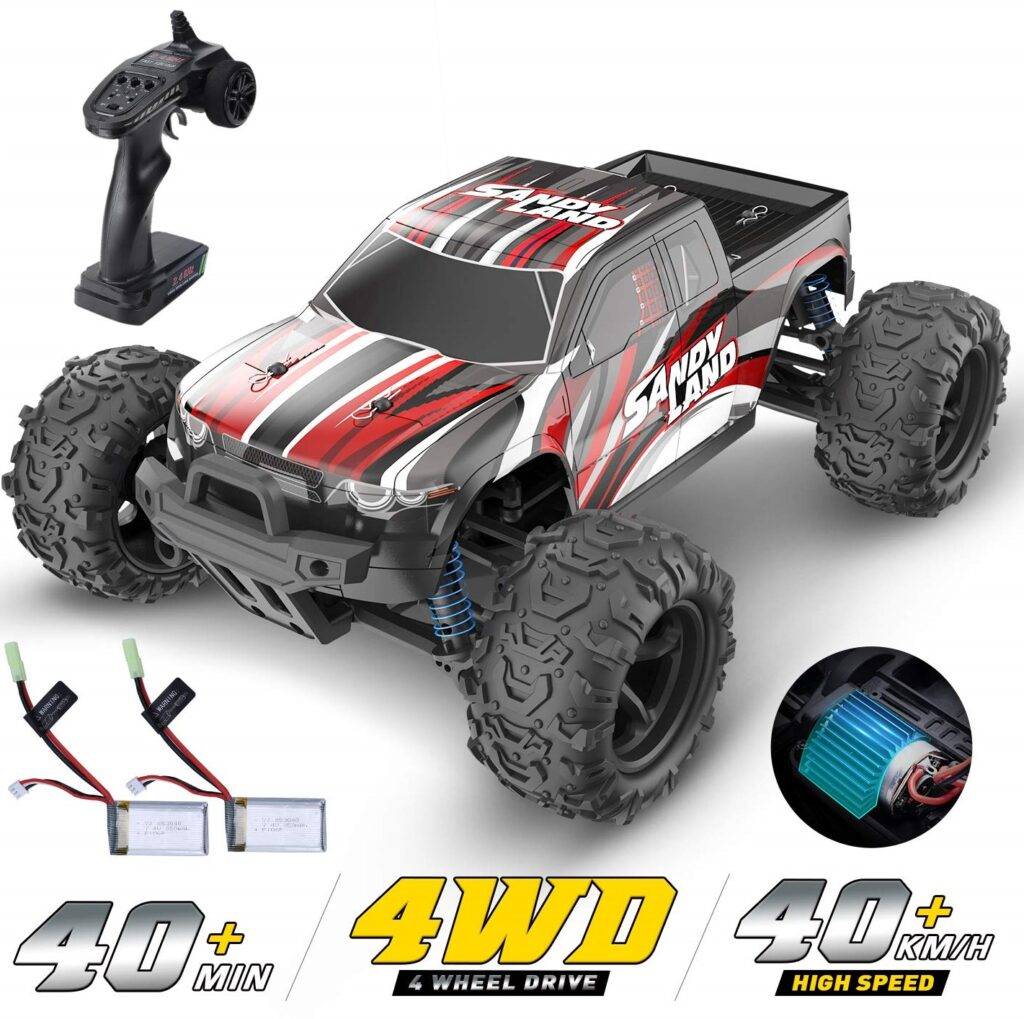DEERC 118 Scale High-Speed RC Car for Kids Adults