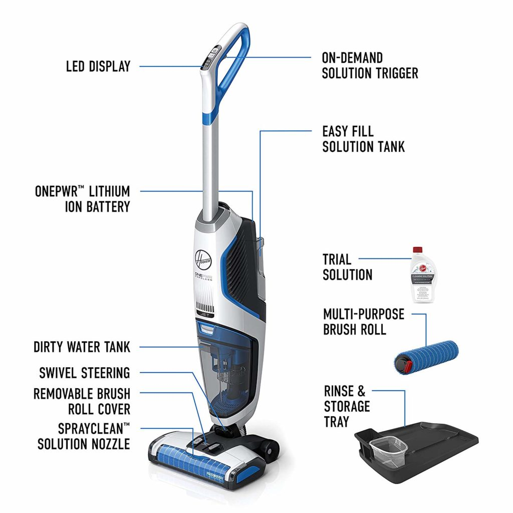 Hoover ONEPWR Cordless FloorMate Jet Hard Floor Cleaner