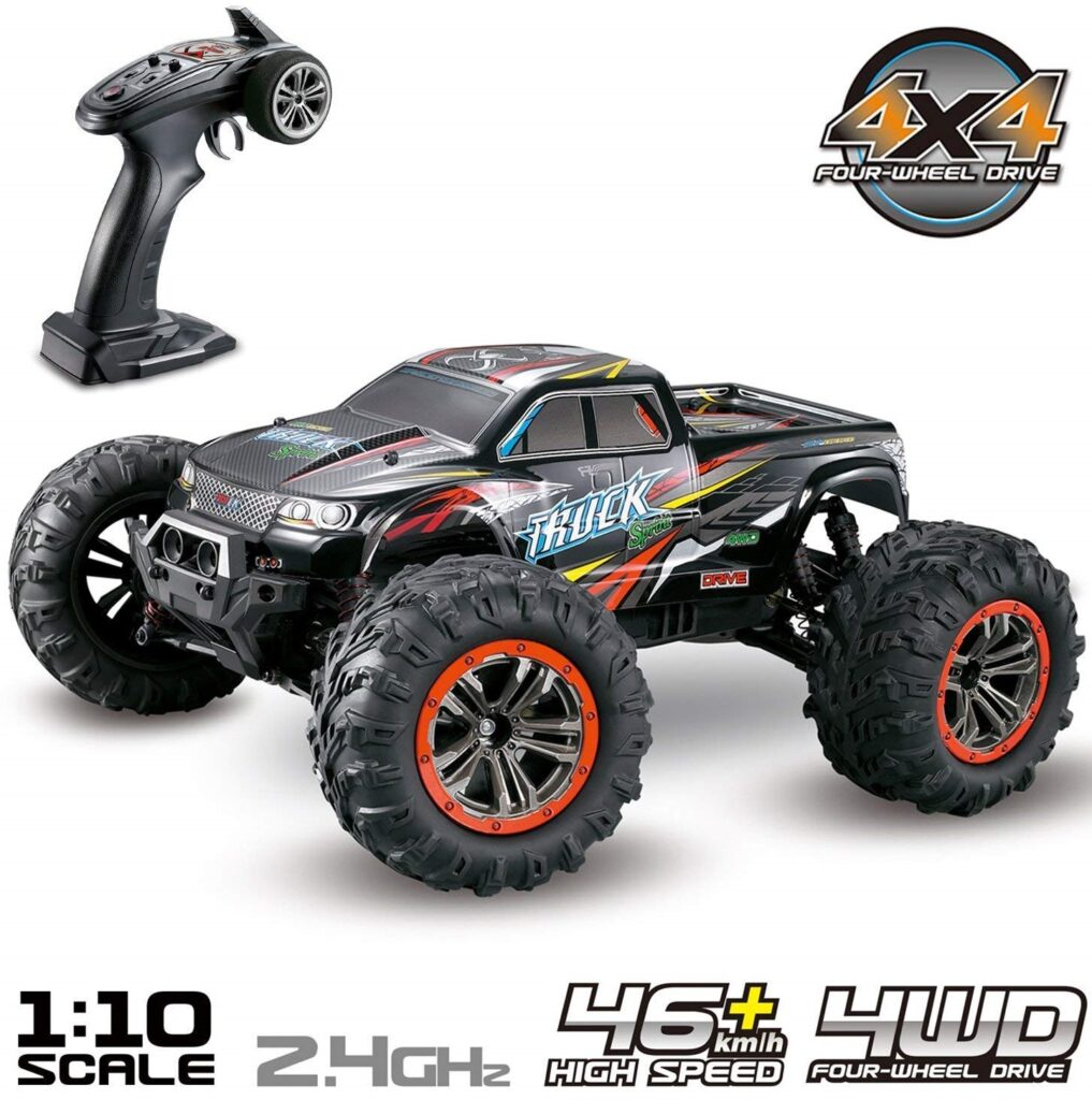 Hosim Large Size 110 Scale High-Speed Hobby Grade RC Monster Truck