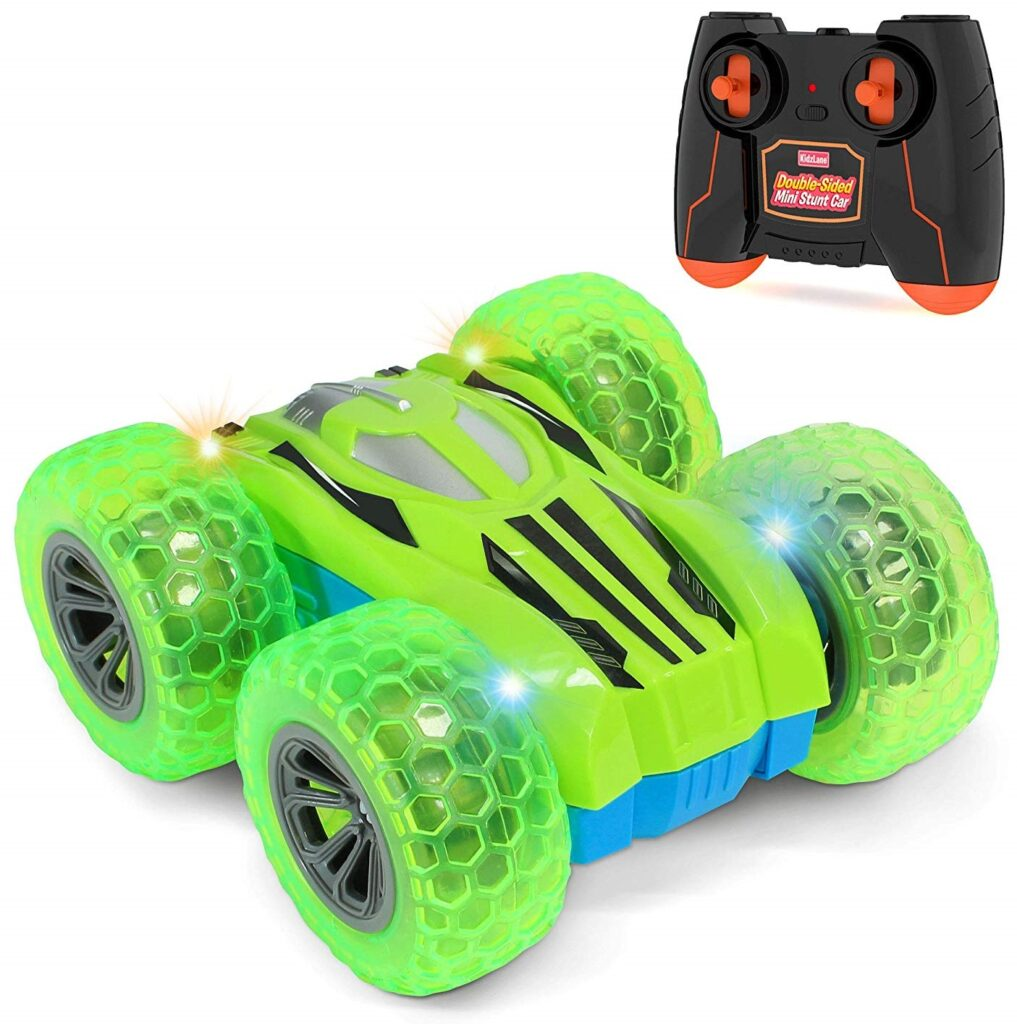 Kidzlane Remote Control Car -Mini Double-Sided Stunt Car