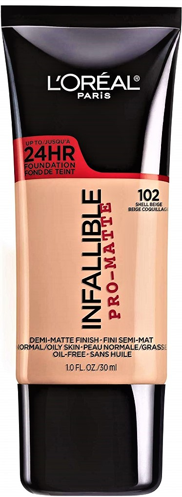 L'Oréal Paris Infallible Pro-Matte Liquid Longwear Foundation Makeup