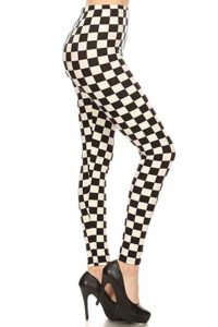Leggings Depot Women's Ultra Soft Printed Fashion