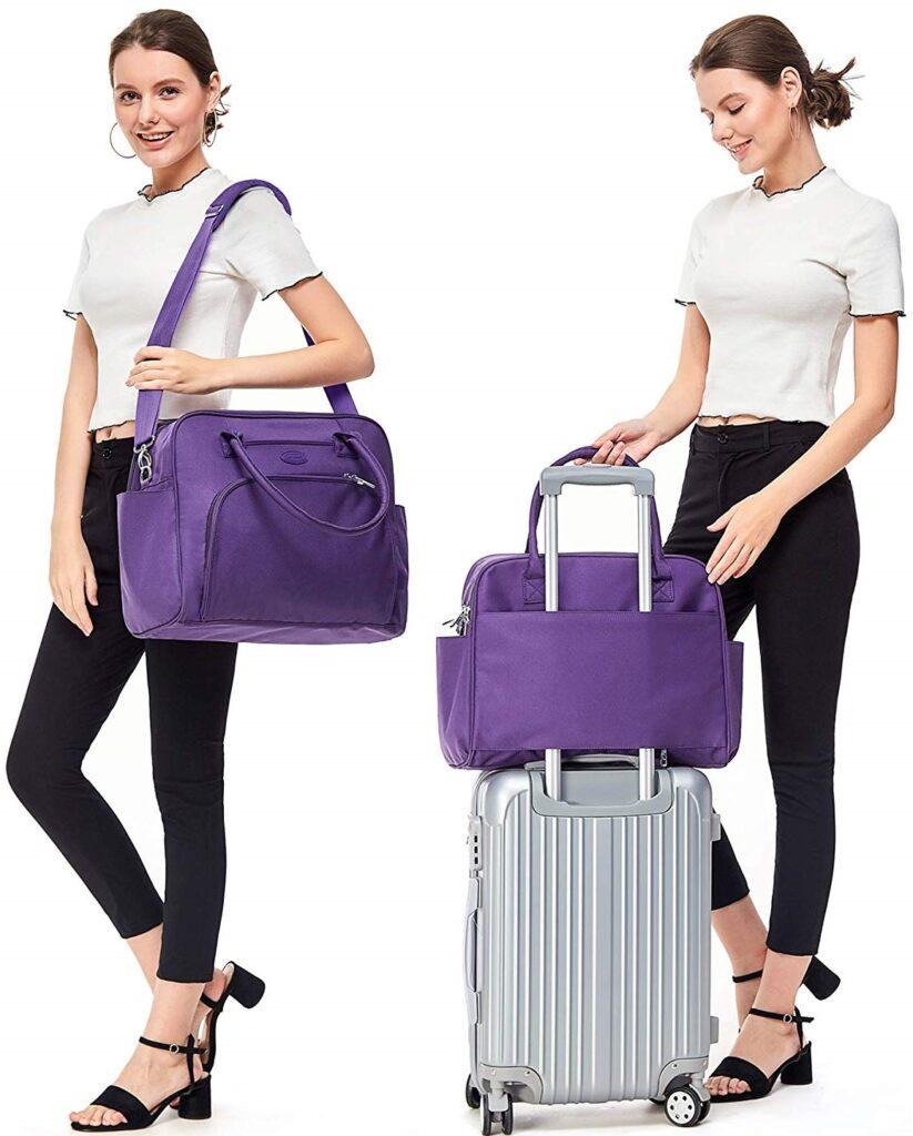 Lily & Drew Travel Shoulder Bag