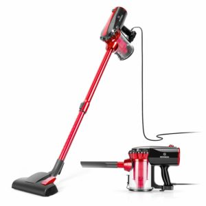''MOOSOO- Corded Stick Vacuum cleaners with HEPA Filter