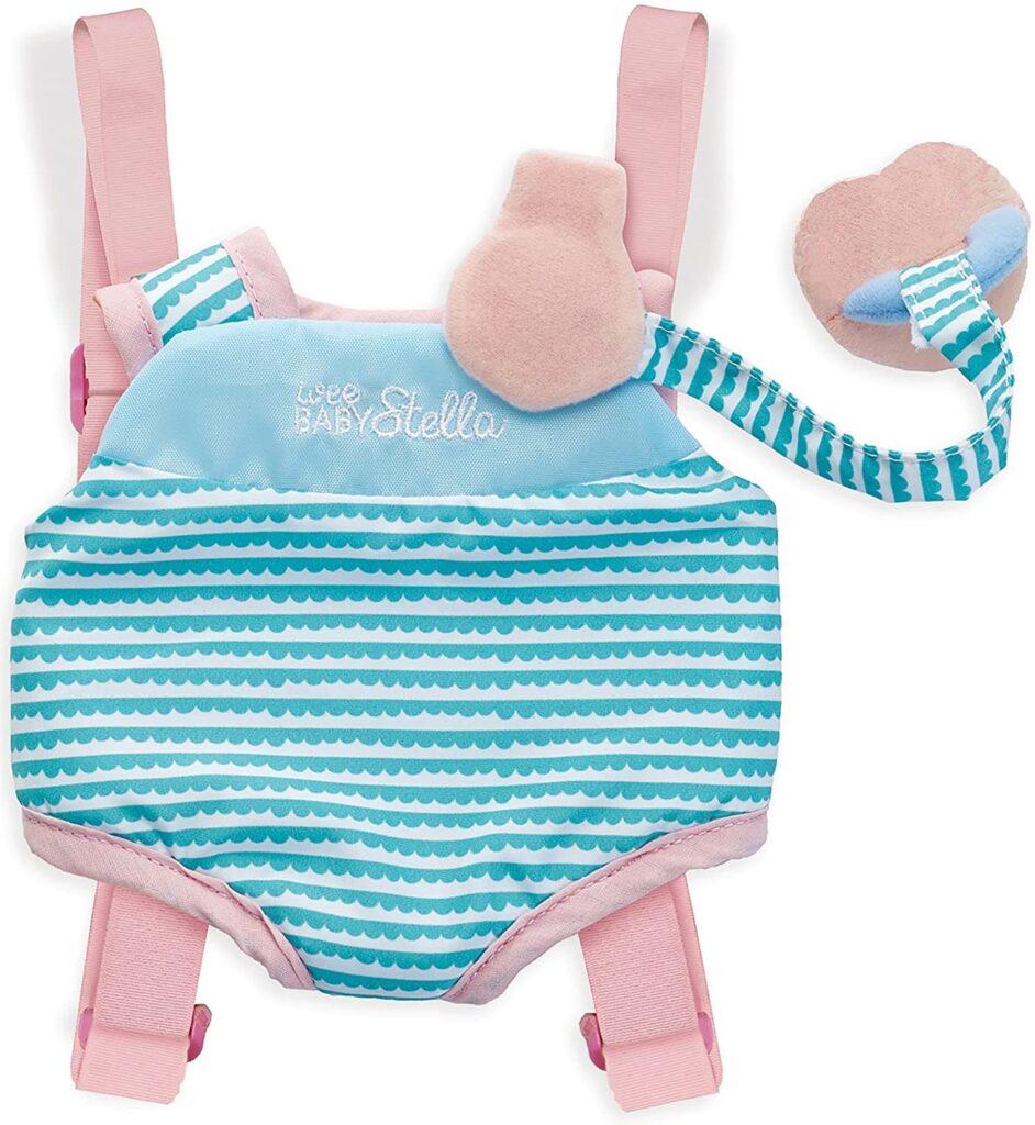 Manhattan Toy Wee Baby Stella Travel Time Carrier Baby Doll