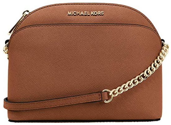 Michael Kors Leather Crossbody Bag