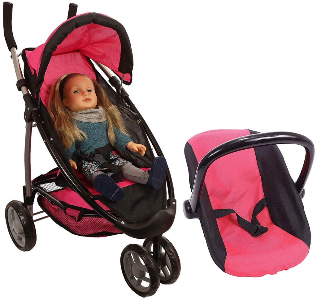 Mommy and Me 2-in-1 Doll Stroller