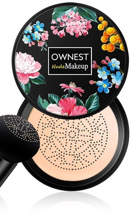 Ownest Mushroom Head Air Cushion BB Cream Pigment CC Liquid Foundation