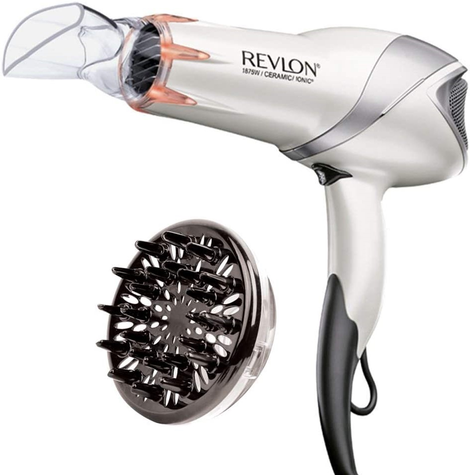 Revlon 1875W Infrared Hair Dryer for Faster Drying