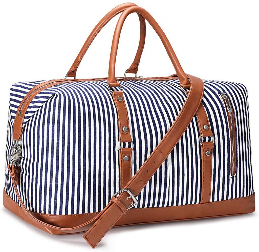 S-ZONE Women Travel Weekender Shoulder Tote Bag