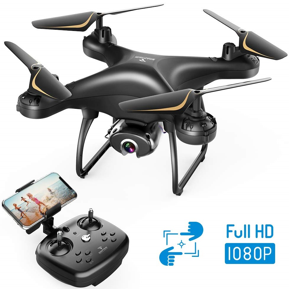 SNAPTAIN SP650 1080P Drone with Live Video Camera