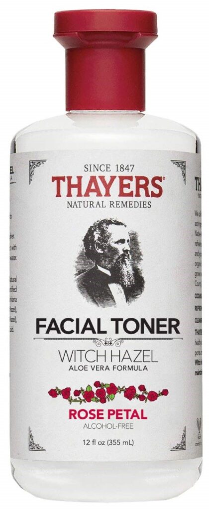 Thayers Alcohol-Free Rose Petal Witch Hazel Facial Toner with Aloe Vera Formula