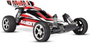 Traxxas Bandit 110 Scale 2WD Off-Road Buggy with TQ 2.4ghz Radio System