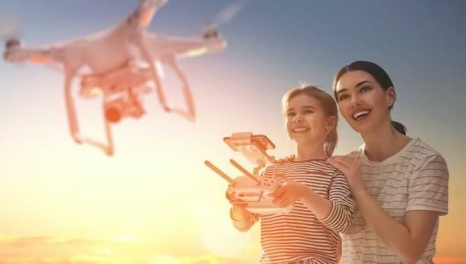 What age is appropriate for a kids' drone? And is it Safe for Kids?