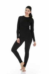 Women's Ultra Soft Thermal Underwear Long Johns Set