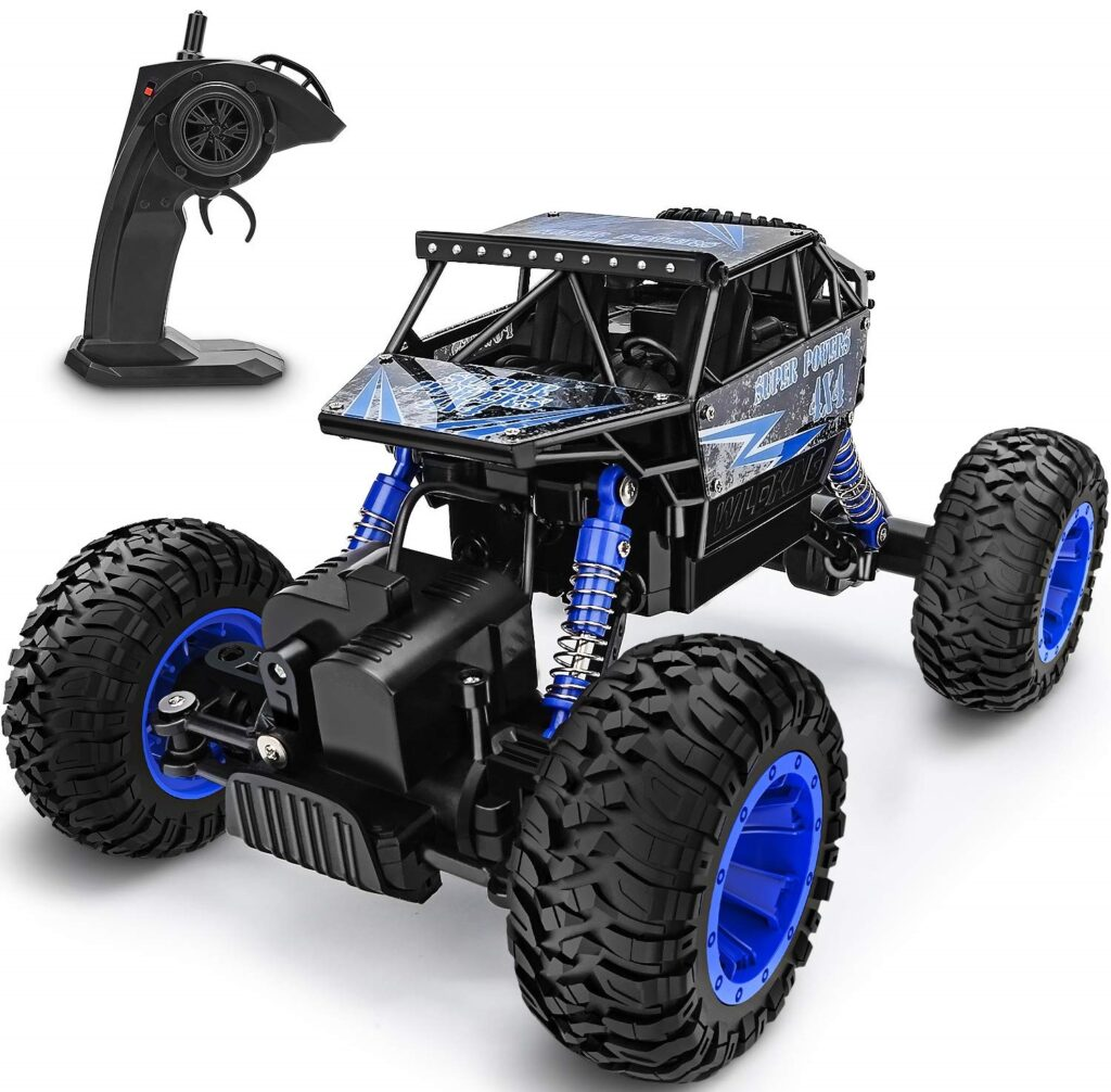 YEZI 118 Large Scale, 2.4Ghz Terrain Waterproof RC Truck