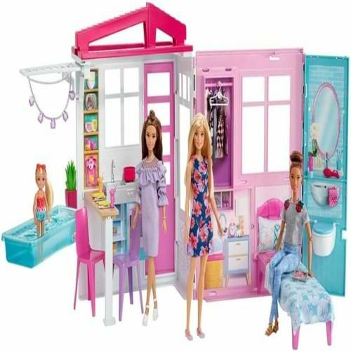 overall Best Barbie Doll and Dollhouse-Portable Playset